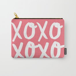 Xo Hugs & Kisses Carry-All Pouch