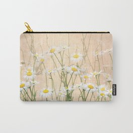Layered Daisy Chains Carry-All Pouch
