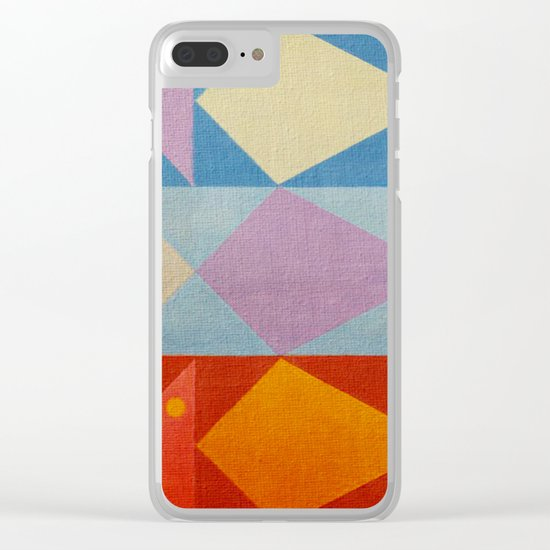 Fish's Control Clear iPhone Case