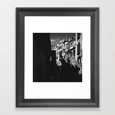 Where it leads Framed Art Print
