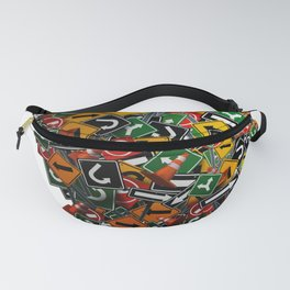 Psychology And Psychiatry Symbol Fanny Pack