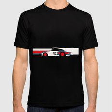 Moby Dick - Vintage Porsche 935/70 Le Mans Race Car Mens Fitted Tee Black X-LARGE