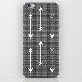 Arrow Sketch iPhone Skin