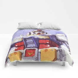 Gundam Rx-78-2 watercolor (large ver.) Comforters