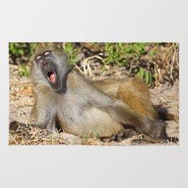 Just sooooo tired - Africa wildlife Rug