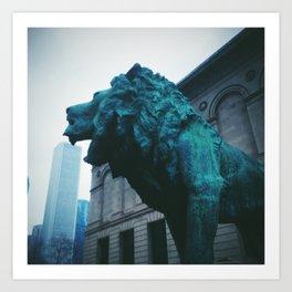 The Art Institute of Chicago Art Print