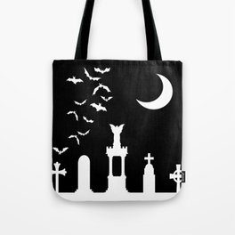 The Graveyard By Moonlight Tote Bag