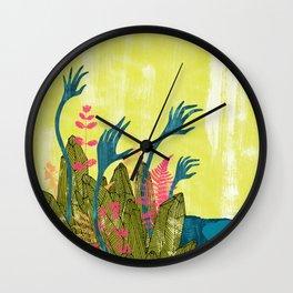 l'isola di calipso Wall Clock