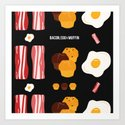 Bacon, Egg & Muffin!! -DARK- by solpro