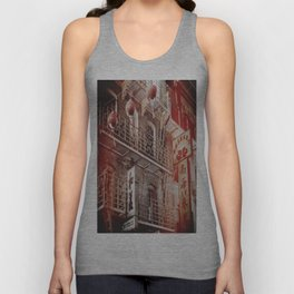 Chinatown, SF Unisex Tank Top