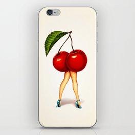 Cherry Girl iPhone Skin