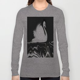 Swan Painting Long Sleeve T-shirt