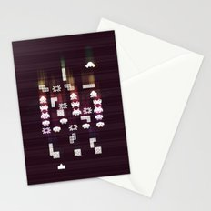 War Of The 8-Bit Worlds Stationery Cards