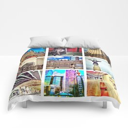 Urban landscapes - Toronto Comforters