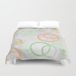 design in pastel tones -2b- Duvet Cover