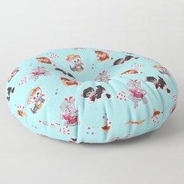 Zombie Cats Floor Pillow
