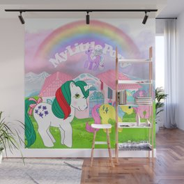 g1 my little pony Wall Mural