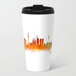 Barcelona City Skyline Hq _v2 Travel Mug