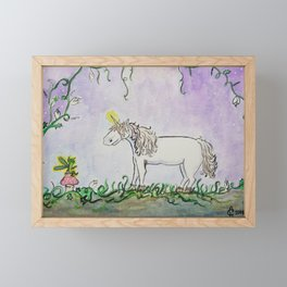 Work Friends Framed Mini Art Print