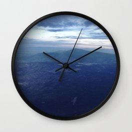 Santa Fe Blues Wall Clock