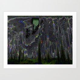 Digital Fog Art Print