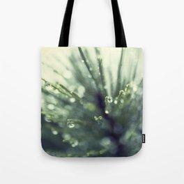 Fir Water Droplet Tote Bag