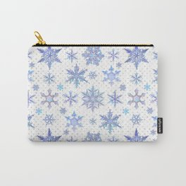 Snowflakes #1 Carry-All Pouch