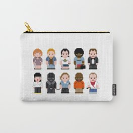 Pixel Pulp Fiction Characters Carry-All Pouch