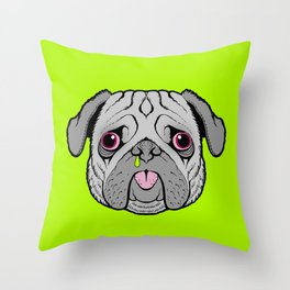 HUH? Throw Pillow