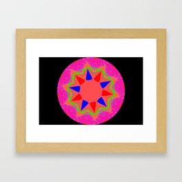 Abstact 5 Kaleidoscope Framed Art Print