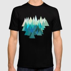 Cold Mountain LARGE Black Mens Fitted Tee