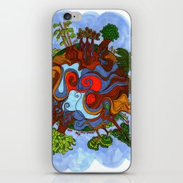 Big world iPhone Skin