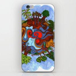 Big world iPhone Skin