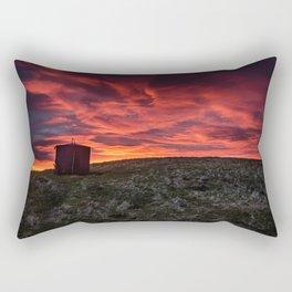 Fiery Skies Rectangular Pillow