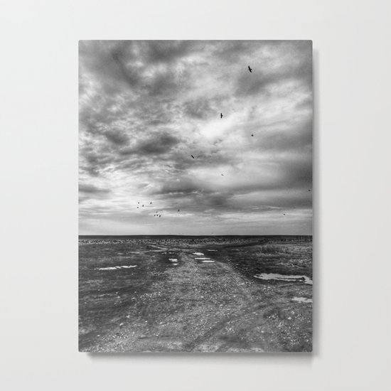 | Never-ending No. 40 - or the crow song at the edge of the world | Metal Print