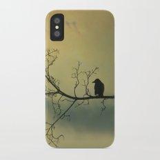 Solitude Mood iPhone X Slim Case