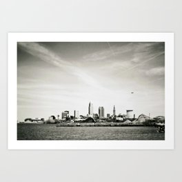 Cleveland from the West Art Print