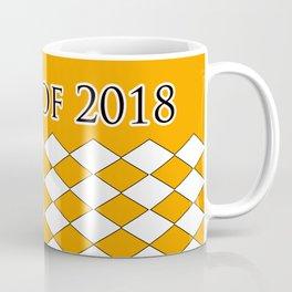 Class of 2018...Orange Coffee Mug