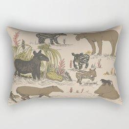 Tapirs Rectangular Pillow