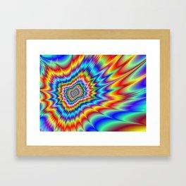 Blasted into Orbit Framed Art Print