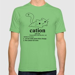 Cation, stay pawsitive T-shirt