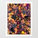 Vintage Fruit Pattern VI by burcukorkmazyurek