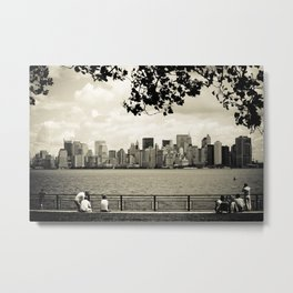 A view of NYC Metal Print