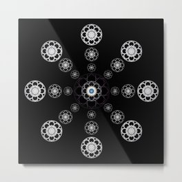 Nexus N°16bis Metal Print