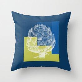 Artichoke Throw Pillow