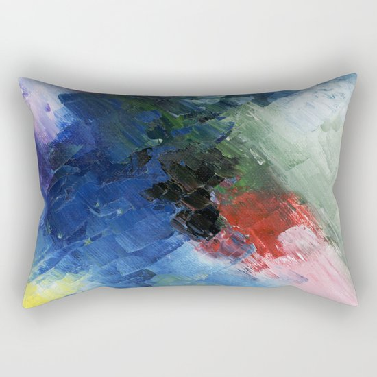 Abstract Clouds Rectangular Pillow