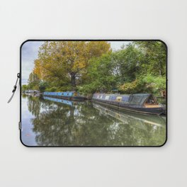 Narrow Boats Little Venice London Laptop Sleeve
