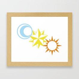 Celestial Magic Framed Art Print