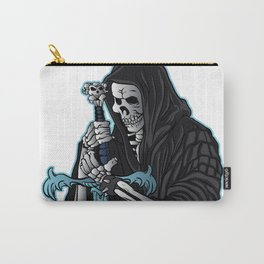 grim reaper with sword .grim reaper tattoo. Carry-All Pouch