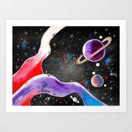 """Planetary"" Art Print"